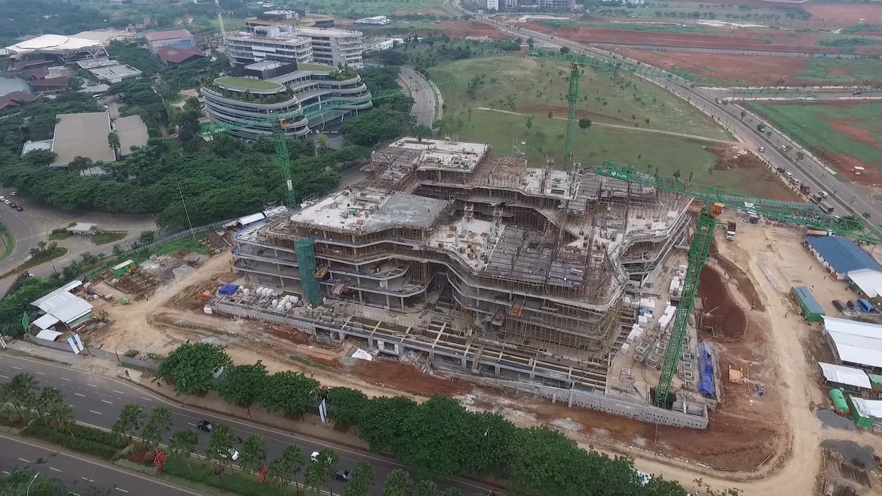Unilever S Indonesian Head Office Bsd City Tangerang