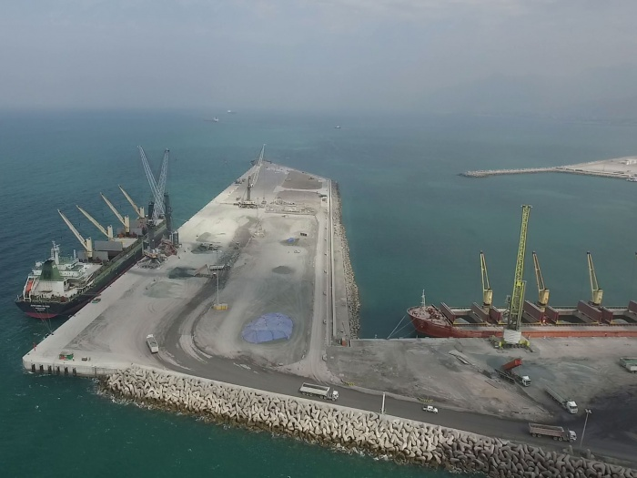 Saqr Port expansion – Ras Al Khaimah, Phase 1 and 2