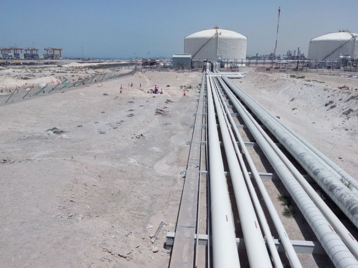 CT4 road connection project, Dubai