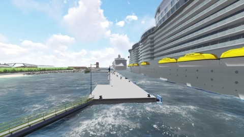 Curaçao Mega Cruise Terminal - Commercial Visualization