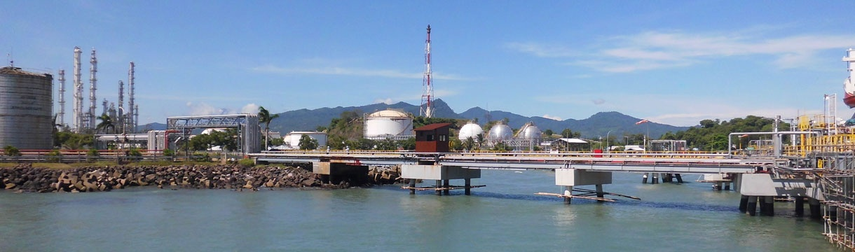 Petrochemical jetty, Cilegon, West Java – Indonesia