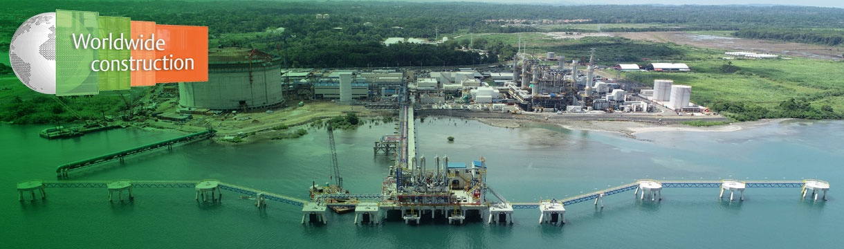 Costa Norte LNG jetty, Panama