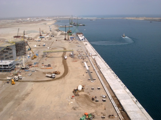 Industrial port - Sohar, Oman