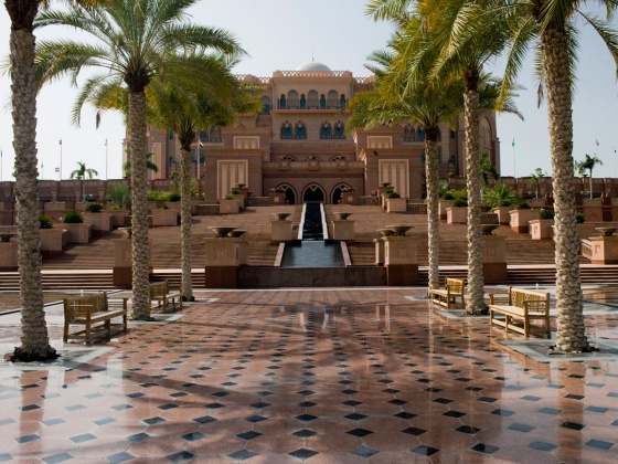 Emirates Palace Hotel - Abu Dhabi, United Arab Emirates