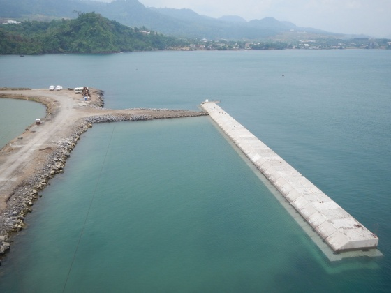 Quay wall for Limbe Shipyard – Cameroon