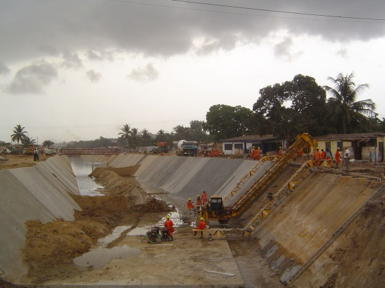 Odaw drainage improvement work (lot 3) - Accra, Ghana