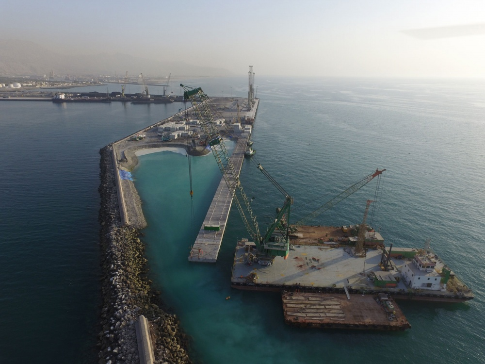Saqr Port expansion – Ras Al Khaimah, Phase 1 and 2 | BAM